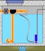 AZU Water HOUSE STORM S recupero acque piovane