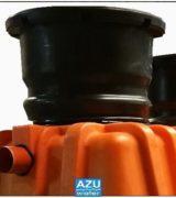 AZU Water DomaPlant è un piccolo sistema di trattamento reflui domestici.