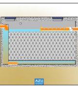 AZU Water filtro percolatore anaerobico TRICKLY S