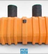 AZU Water filtro percolatore anaerobico TRICKLY ORANGE
