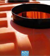 AZU Water filtro percolatore aerobico PERCO ORANGE